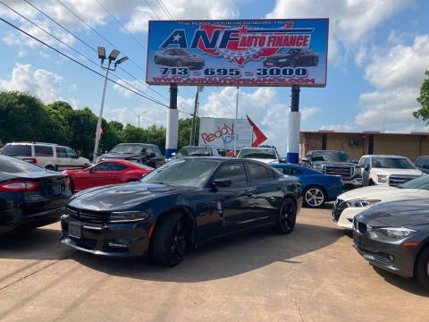 2018 Dodge Charger for sale at ANF AUTO FINANCE in Houston TX