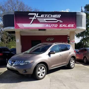 2010 Nissan Murano for sale at Fletcher Auto Sales in Augusta GA