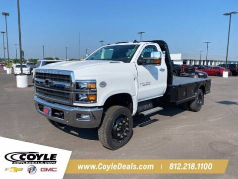 2020 Chevrolet Silverado 4500 HD for sale at COYLE GM - COYLE NISSAN - New Inventory in Clarksville IN