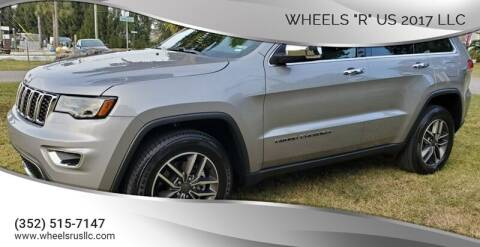 "2019 Jeep Grand Cherokee for sale at WHEELS ""R"" US 2017 LLC in Hudson FL"