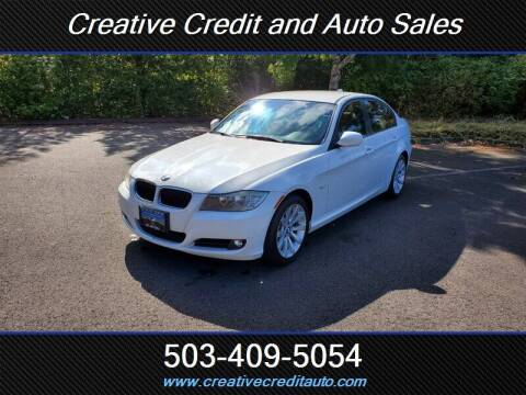 2011 BMW 3 Series for sale at Creative Credit & Auto Sales in Salem OR