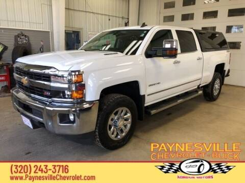 2016 Chevrolet Silverado 2500HD for sale at Paynesville Chevrolet - Buick in Paynesville MN