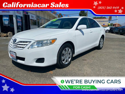 2011 Toyota Camry for sale at Californiacar Sales in Santa Maria CA