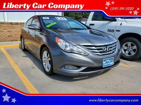 2011 Hyundai Sonata for sale at Liberty Car Company in Waterloo IA