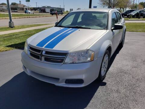 2012 Dodge Avenger for sale at Auto Hub in Grandview MO