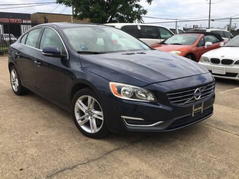 2014 Volvo S60 for sale at TETCO AUTO SALES  / TETCO FUNDING in Dallas TX