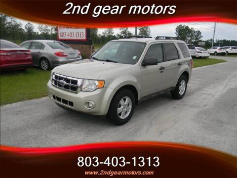 2012 Ford Escape for sale at 2nd Gear Motors in Lugoff SC