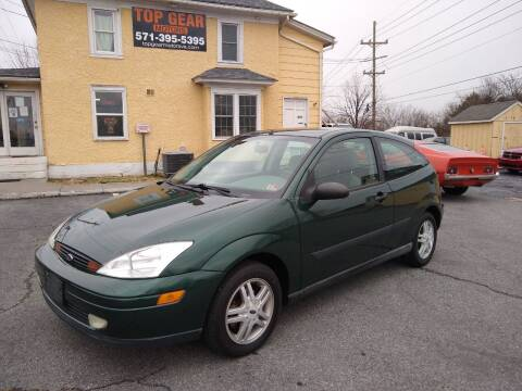 2000 Ford Focus for sale at Top Gear Motors in Winchester VA