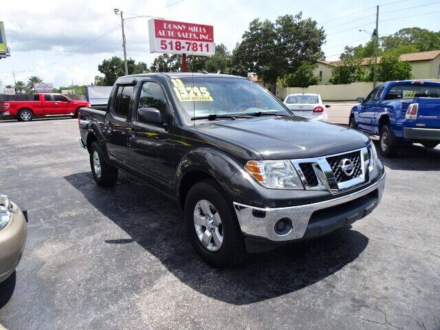 2011 Nissan Frontier for sale at DONNY MILLS AUTO SALES in Largo FL