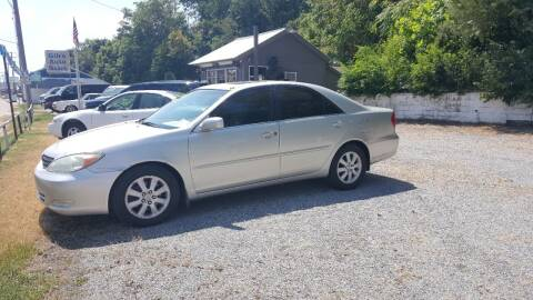 2002 Toyota Camry for sale at GIB'S AUTO SALES in Tahlequah OK