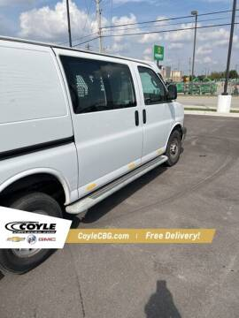 2018 GMC Savana Cargo for sale at COYLE GM - COYLE NISSAN - New Inventory in Clarksville IN