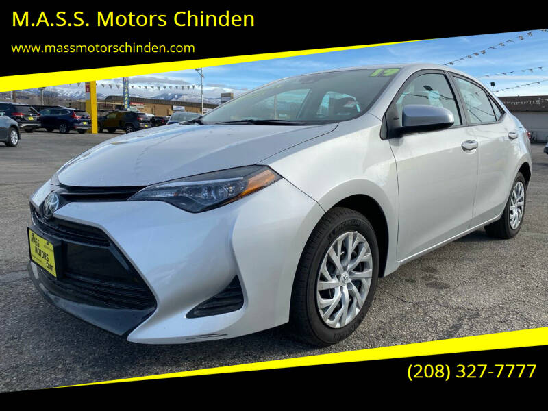 2019 Toyota Corolla for sale at M.A.S.S. Motors Chinden in Garden City ID