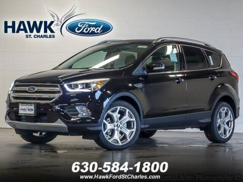 2019 Ford Escape for sale at Hawk Ford of St. Charles in St Charles IL