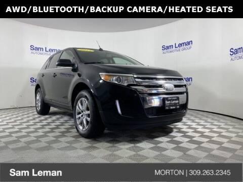 2014 Ford Edge for sale at Sam Leman CDJRF Morton in Morton IL