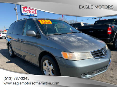 2001 Honda Odyssey for sale at Eagle Motors in Hamilton OH