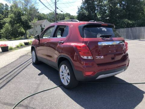 2018 Chevrolet Trax for sale at LARIN AUTO in Norwood MA