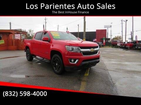 2015 Chevrolet Colorado for sale at Los Parientes Auto Sales in Houston TX