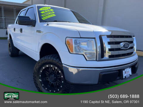 2012 Ford F-150 for sale at Salem Auto Market in Salem OR
