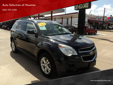 2015 Chevrolet Equinox for sale at Auto Selection of Houston in Houston TX