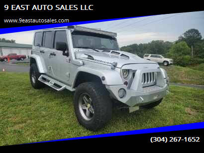 2007 Jeep Wrangler Unlimited for sale at 9 EAST AUTO SALES LLC in Martinsburg WV
