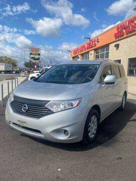 2013 Nissan Quest for sale at RON'S AUTO SALES INC - MAYWOOD in Maywood IL