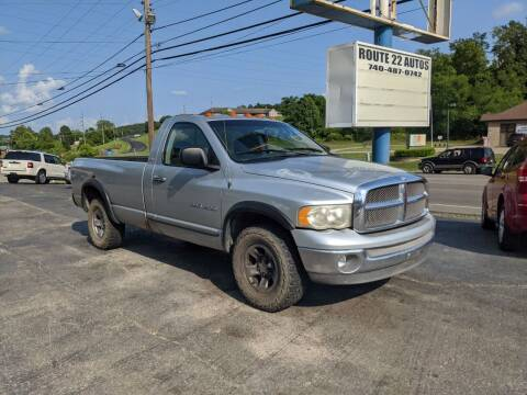 2002 Dodge Ram Pickup 1500 for sale at Route 22 Autos in Zanesville OH