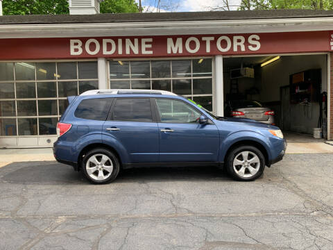 2011 Subaru Forester for sale at BODINE MOTORS in Waverly NY