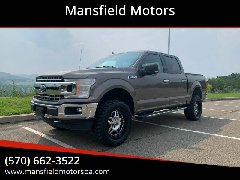 2018 Ford F-150 for sale at Mansfield Motors in Mansfield PA