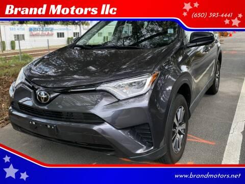 2017 Toyota RAV4 for sale at Brand Motors llc in Belmont CA