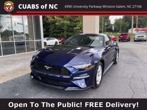 2018 Ford Mustang for sale at Credit Union Auto Buying Service in Winston Salem NC