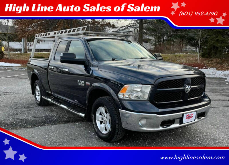2013 RAM Ram Pickup 1500 for sale at High Line Auto Sales of Salem in Salem NH