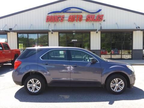 2013 Chevrolet Equinox for sale at DOUG'S AUTO SALES INC in Pleasant View TN