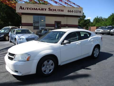 2008 Dodge Avenger for sale at Automart South in Alabaster AL