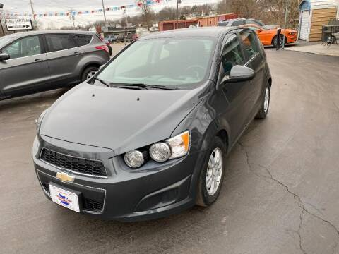 2016 Chevrolet Sonic for sale at County Seat Motors in Union MO