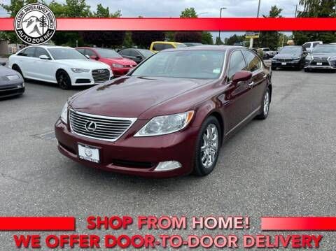 2009 Lexus LS 460 for sale at Auto 206, Inc. in Kent WA