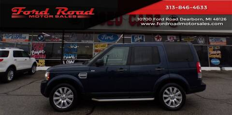 2012 Land Rover LR4 for sale at Ford Road Motor Sales in Dearborn MI