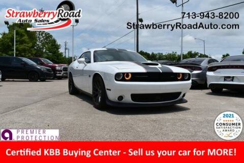 2017 Dodge Challenger for sale at Strawberry Road Auto Sales in Pasadena TX