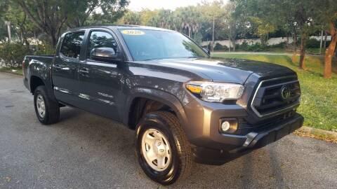 2020 Toyota Tacoma for sale at DELRAY AUTO MALL in Delray Beach FL