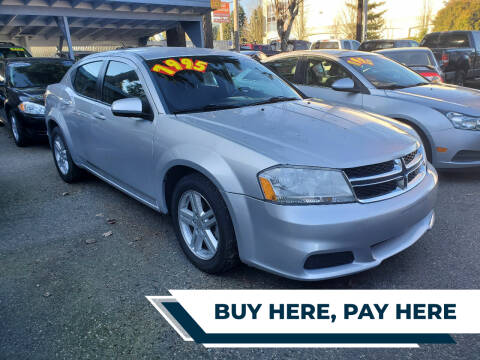 2012 Dodge Avenger for sale at Car Craft Auto Sales Inc in Lynnwood WA