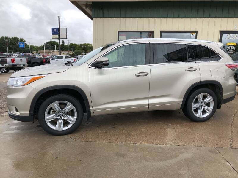 2016 Toyota Highlander for sale at Murphy Motors Next To New Minot in Minot ND