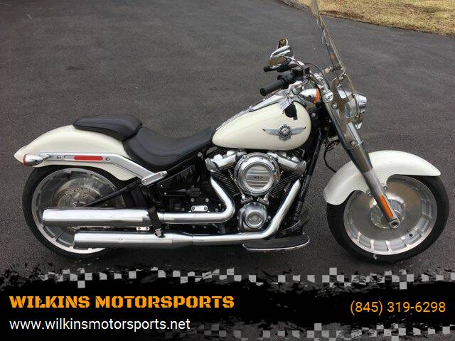 2018 Harley-Davidson Fat Boy for sale at WILKINS MOTORSPORTS in Brewster NY