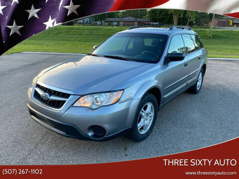 2008 Subaru Outback for sale at Three Sixty Auto in Elysian MN
