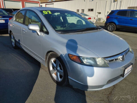2007 Honda Civic for sale at Guy Strohmeiers Auto Center in Lakeport CA