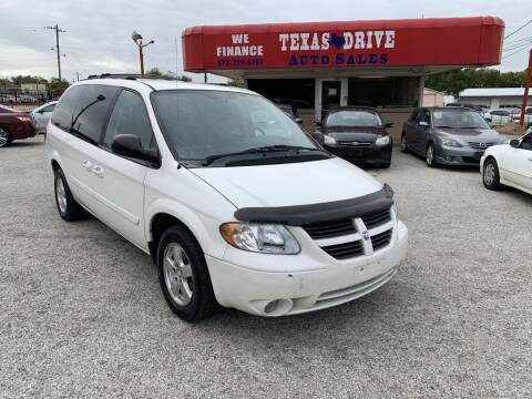 2007 Dodge Grand Caravan for sale at Texas Drive LLC in Garland TX