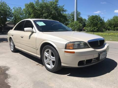2002 Lincoln LS for sale at C.J. AUTO SALES llc. in San Antonio TX