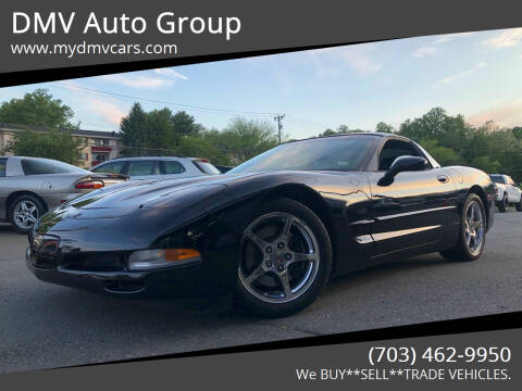 2003 Chevrolet Corvette for sale at DMV Auto Group in Falls Church VA