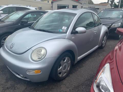 2001 Volkswagen New Beetle for sale at Park Avenue Auto Lot Inc in Linden NJ
