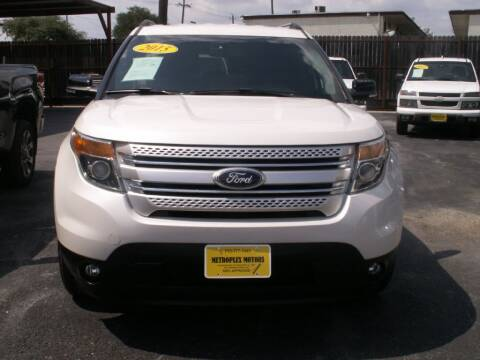 2015 Ford Explorer for sale at Metroplex Motors Inc. in Houston TX