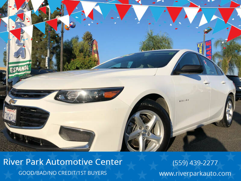 2017 Chevrolet Malibu for sale at River Park Automotive Center in Fresno CA