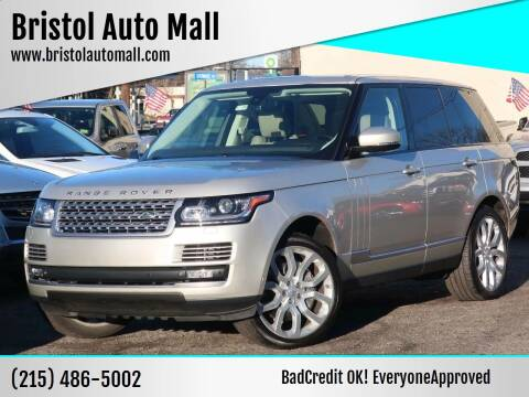 2014 Land Rover Range Rover for sale at Bristol Auto Mall in Levittown PA
